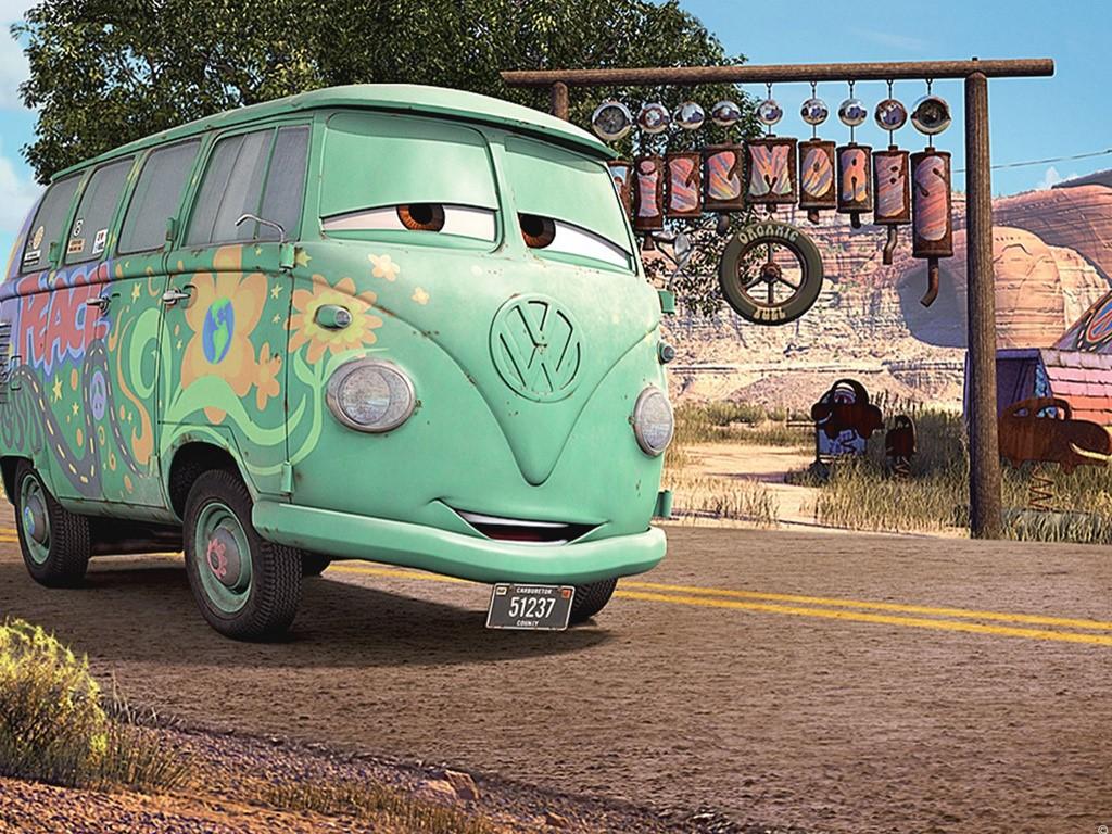 Cartoons Wallpaper: Cars - Fillmore