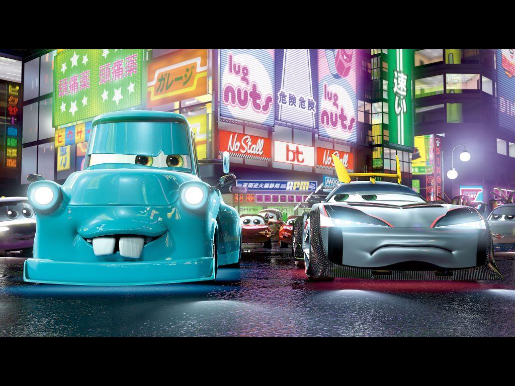 Cartoons Wallpaper: Cars - Tokyo Mater