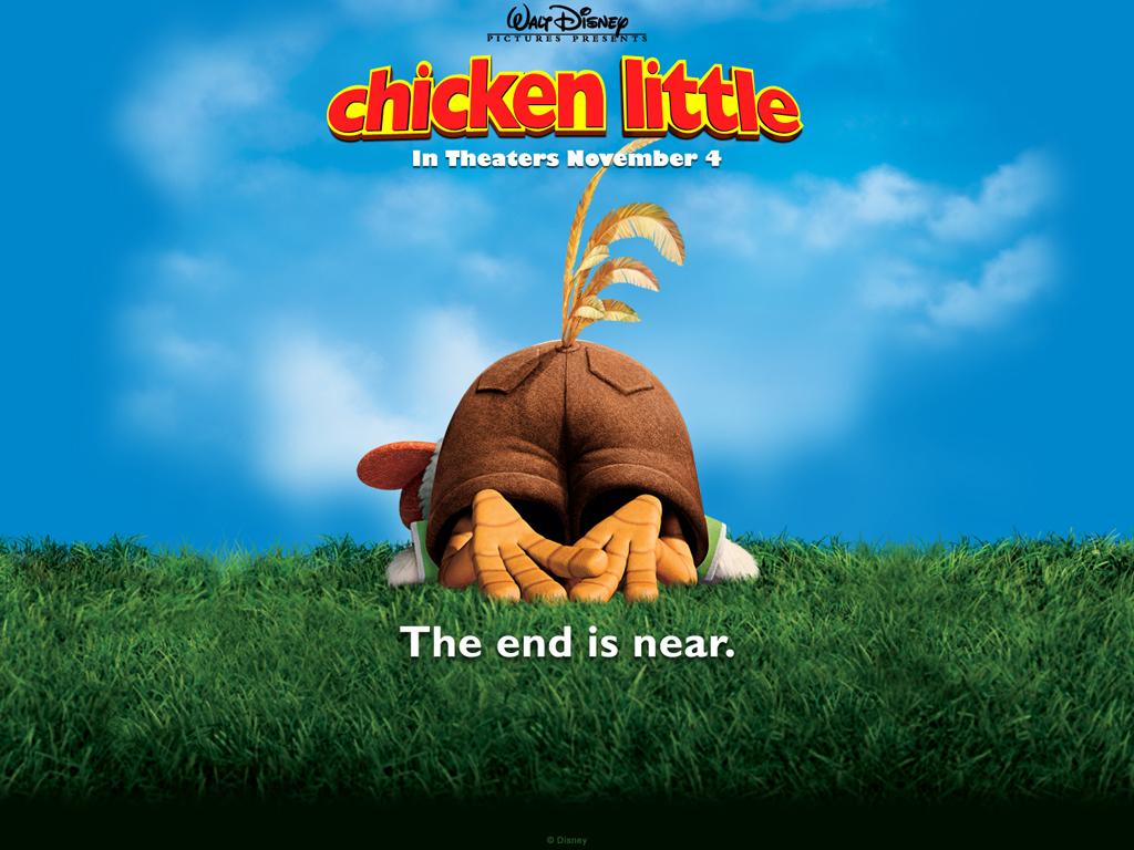 Cartoons Wallpaper: Chicken Little