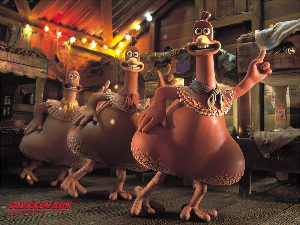 Cartoons Wallpaper: Chicken Run