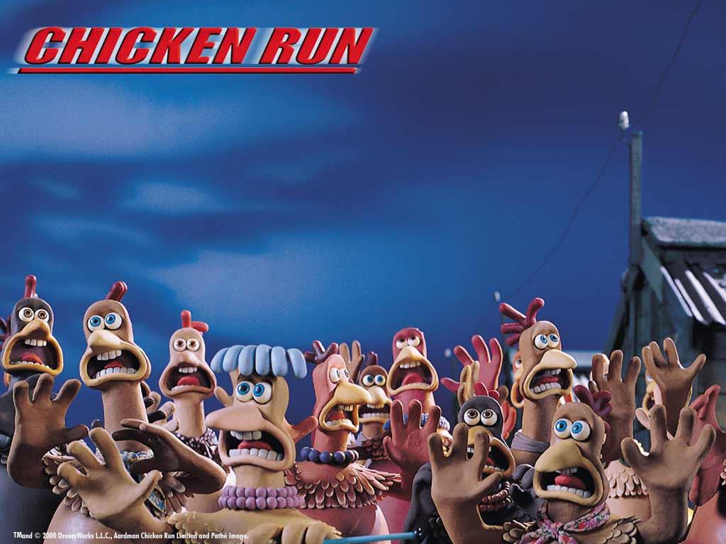 Cartoons Wallpaper: Chicken Run
