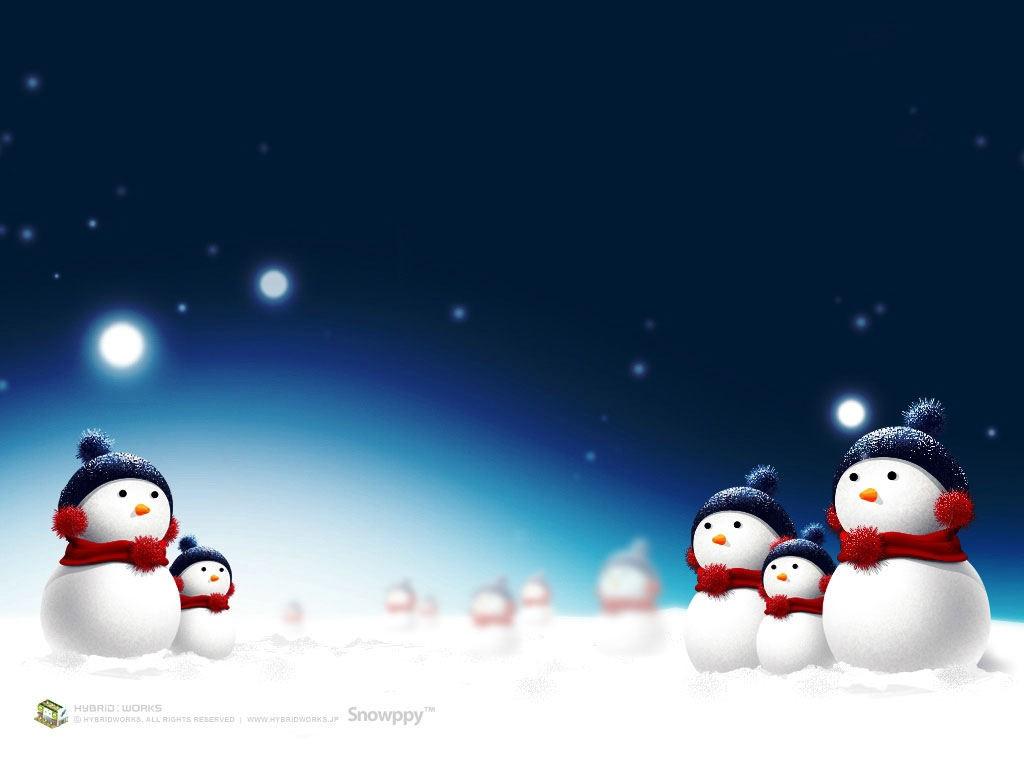 Cartoons Wallpaper: Christmas