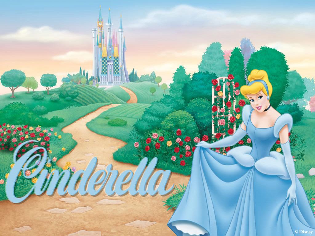 Papel de Parede Gratuito de Desenhos : Cinderella