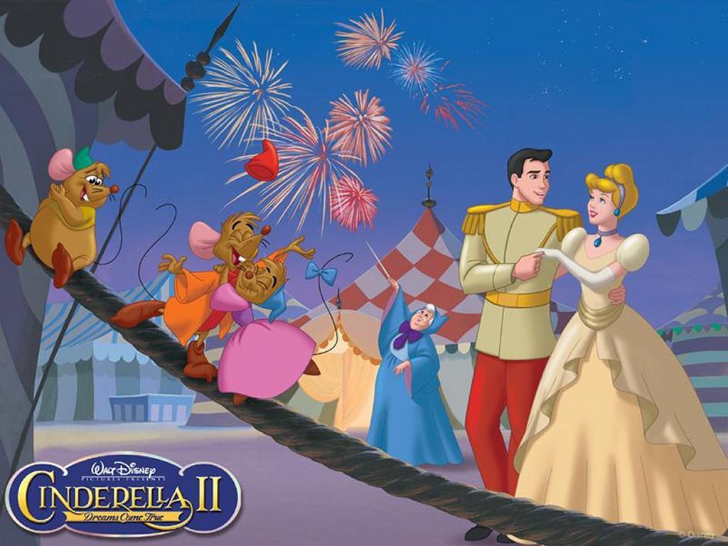 Papel de Parede Gratuito de Desenhos : Cinderella 2
