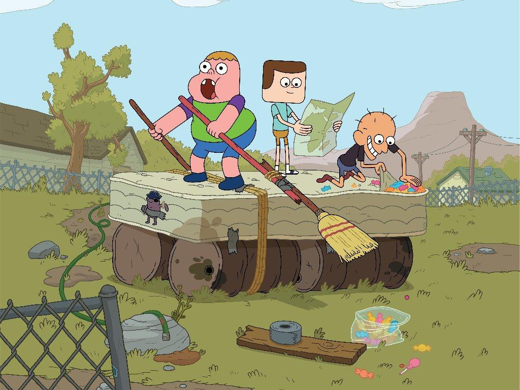 Cartoons Wallpaper: Clarence
