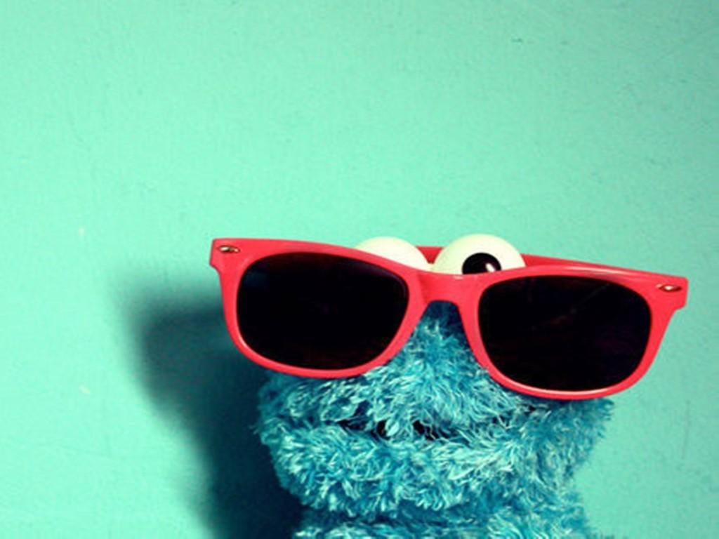 Cartoons Wallpaper: Cookie Monster