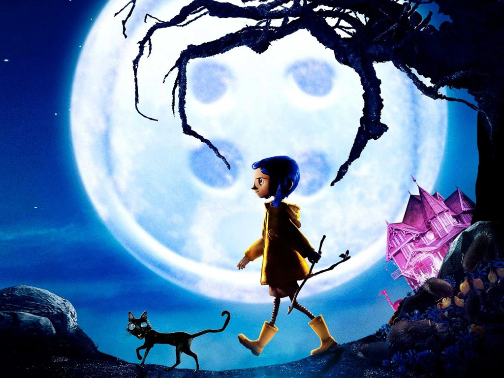 Cartoons Wallpaper: Coraline