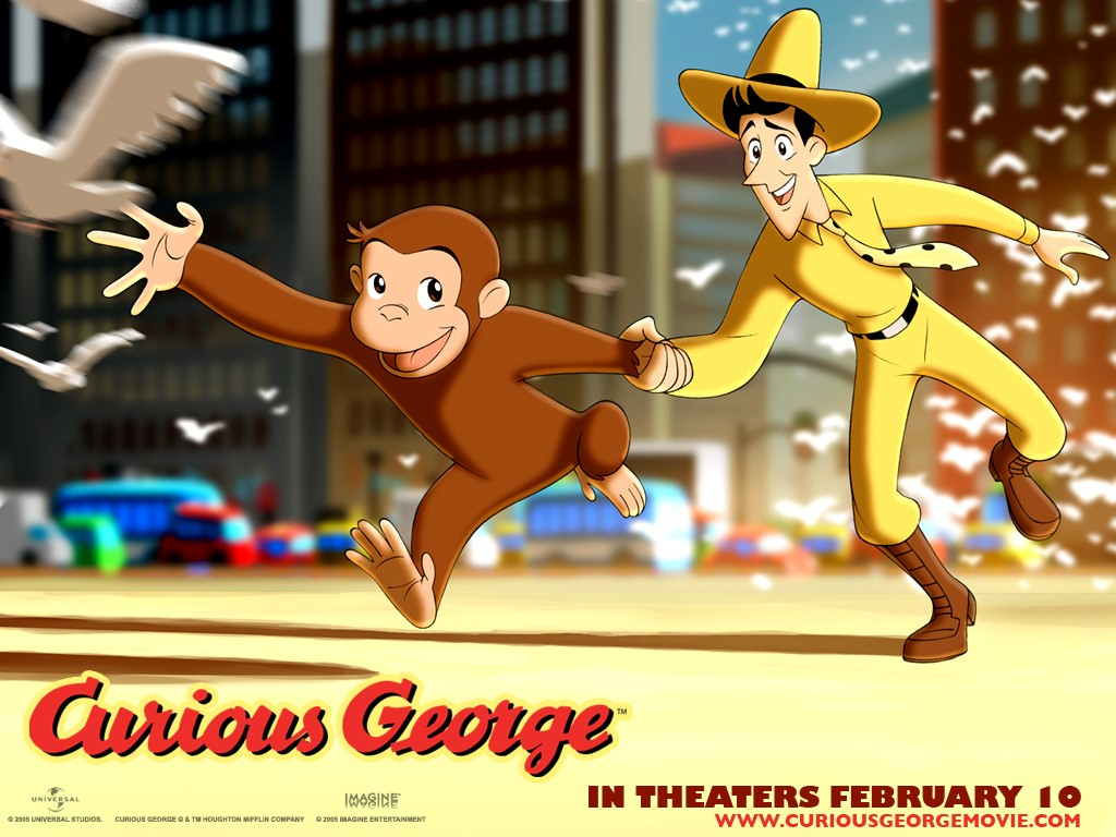 Cartoons Wallpaper: Curious George - The Movie