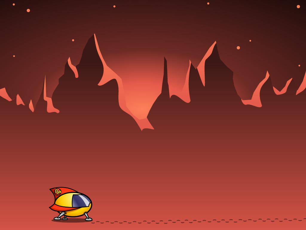 Cartoons Wallpaper: Danger Mouse - Space