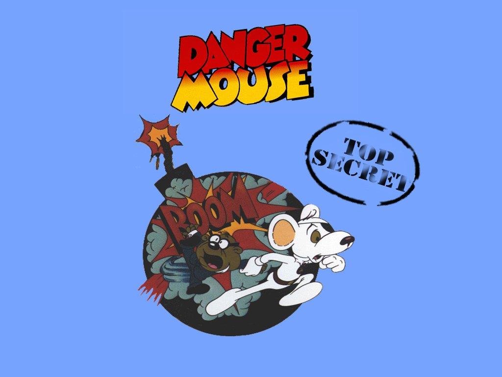 Cartoons Wallpaper: Danger Mouse