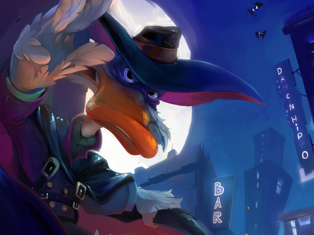 Cartoons Wallpaper: Darkwing Duck