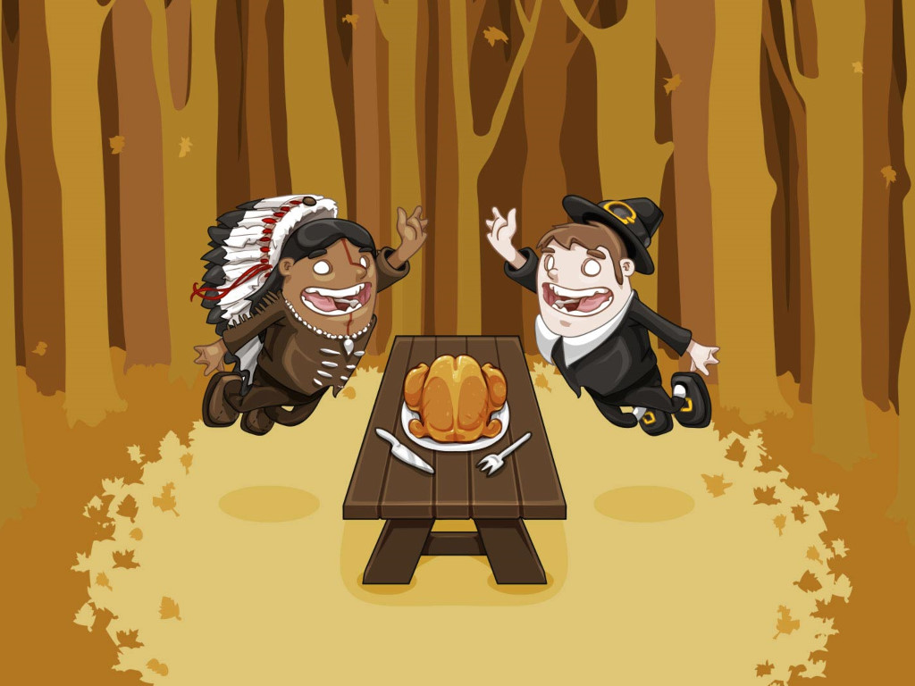 Cartoons Wallpaper: David Lanham - Thanksgiving Rocks!