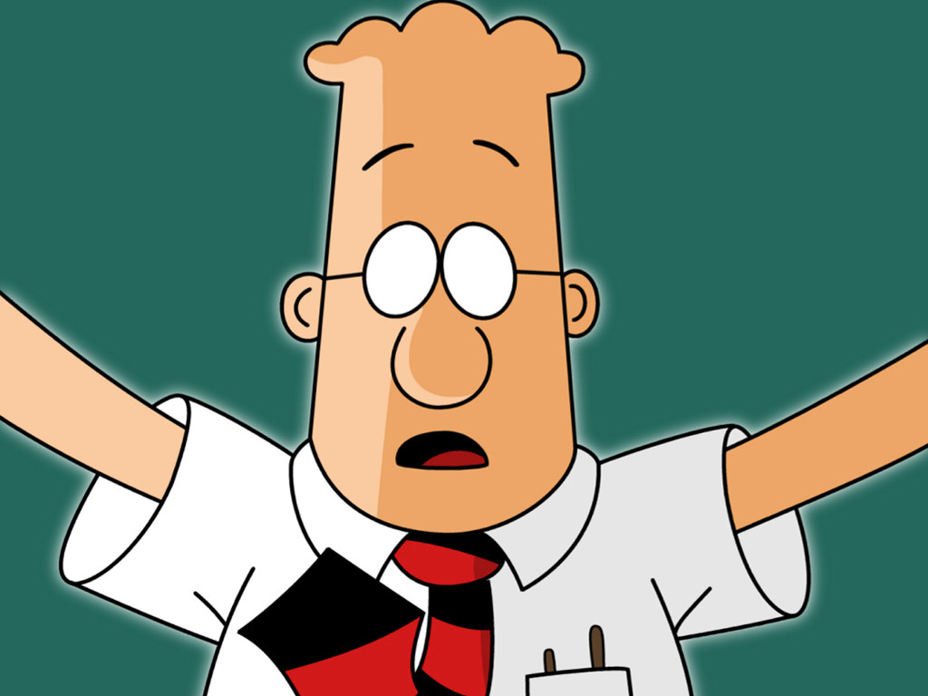 Cartoons Wallpaper: Dilbert