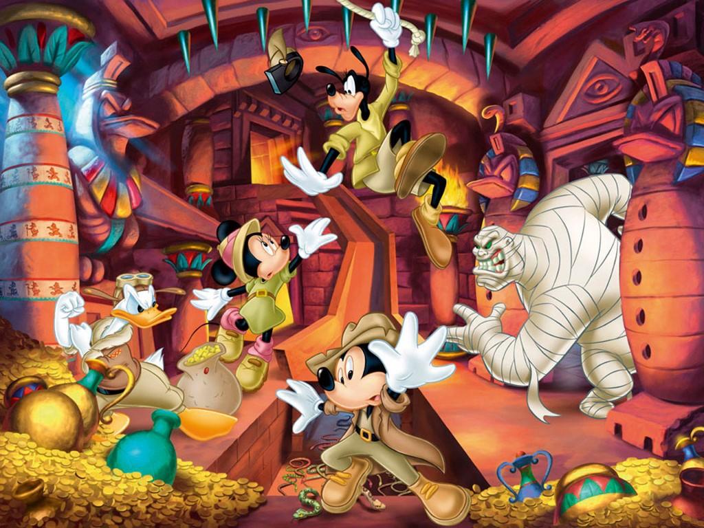 Cartoons Wallpaper: Disney Adventures