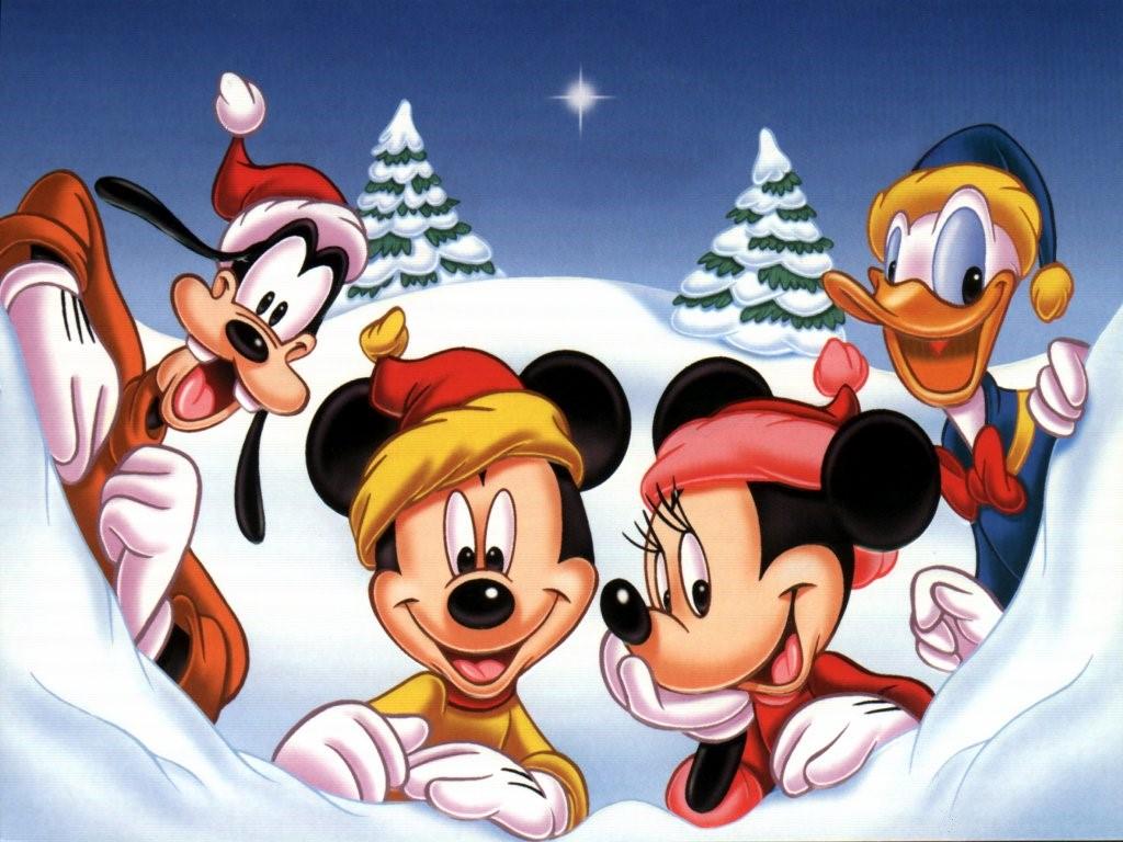 Cartoons Wallpaper: Disney - Christmas