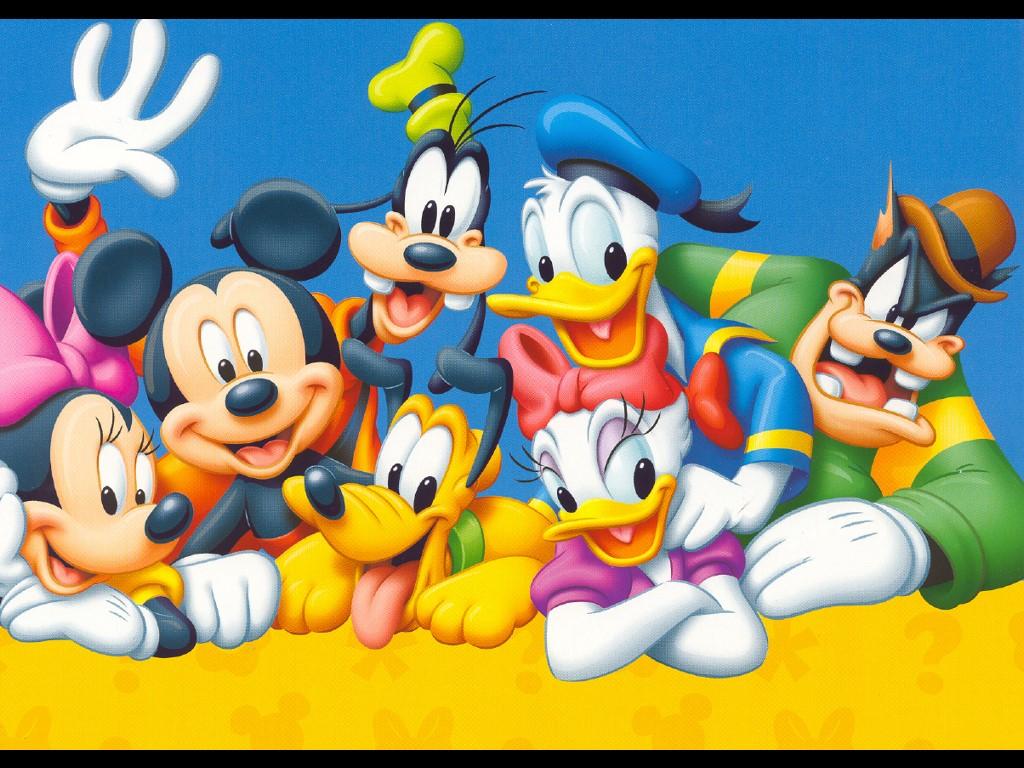 Cartoons Wallpaper: Disney - Gang
