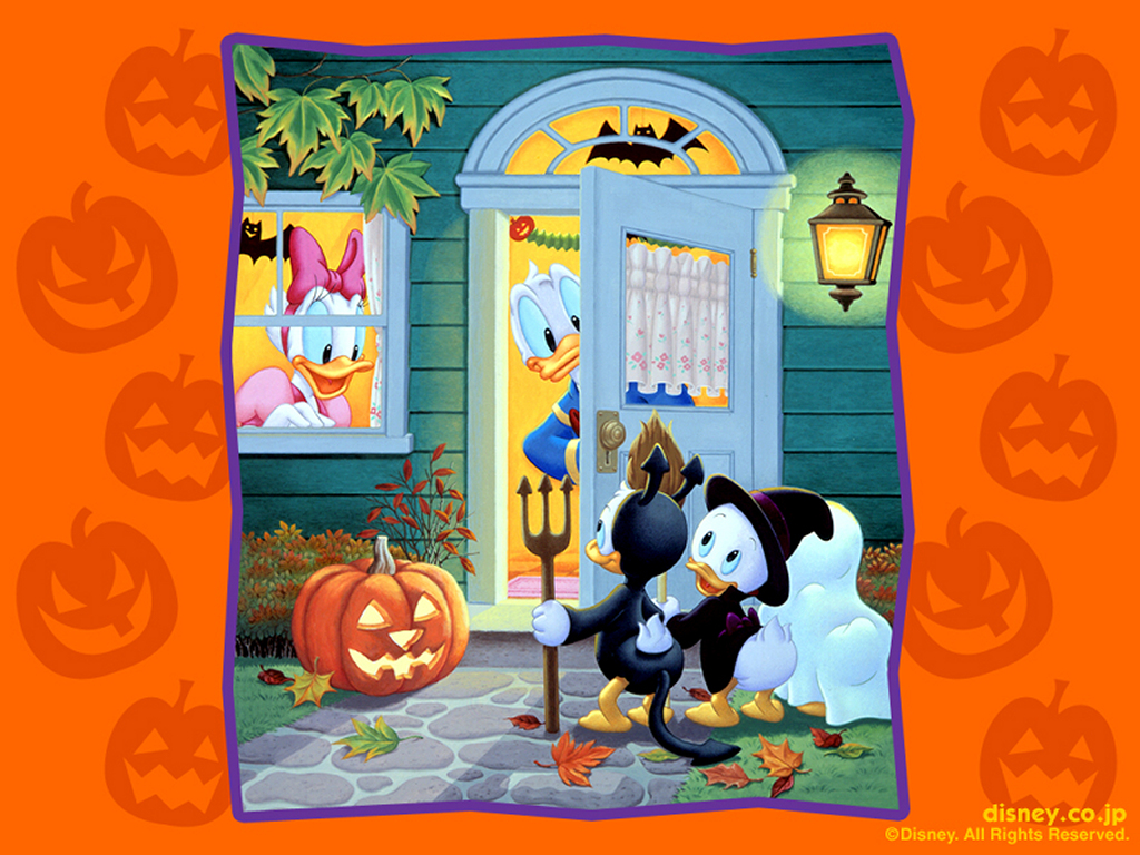 Cartoons Wallpaper: Disney - Halloween