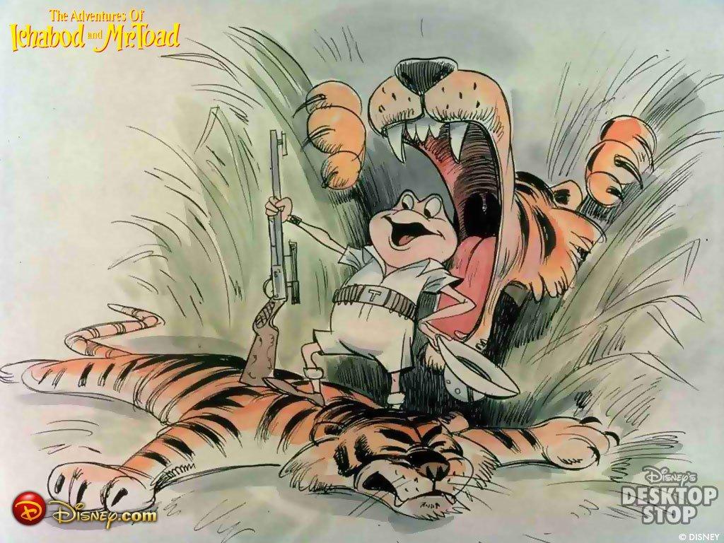 Cartoons Wallpaper: Disney - Mr. Toad