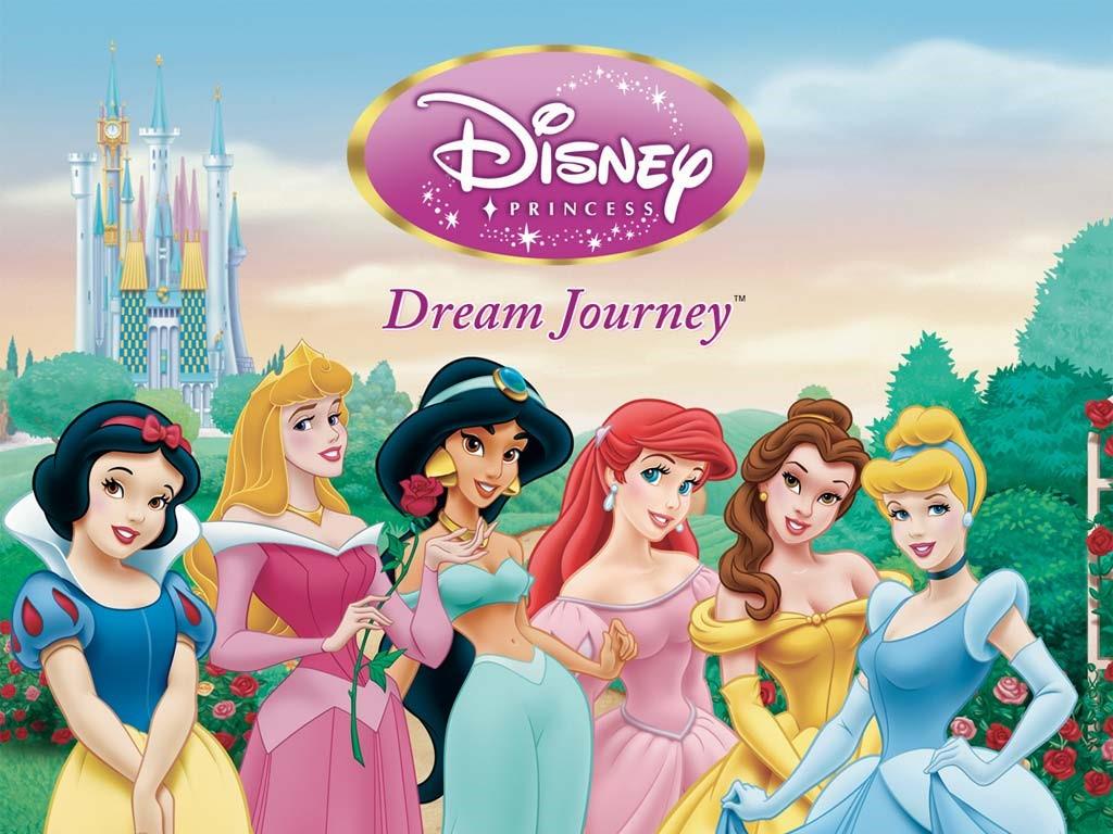 Cartoons Wallpaper: Disney Princess - Dream Journey