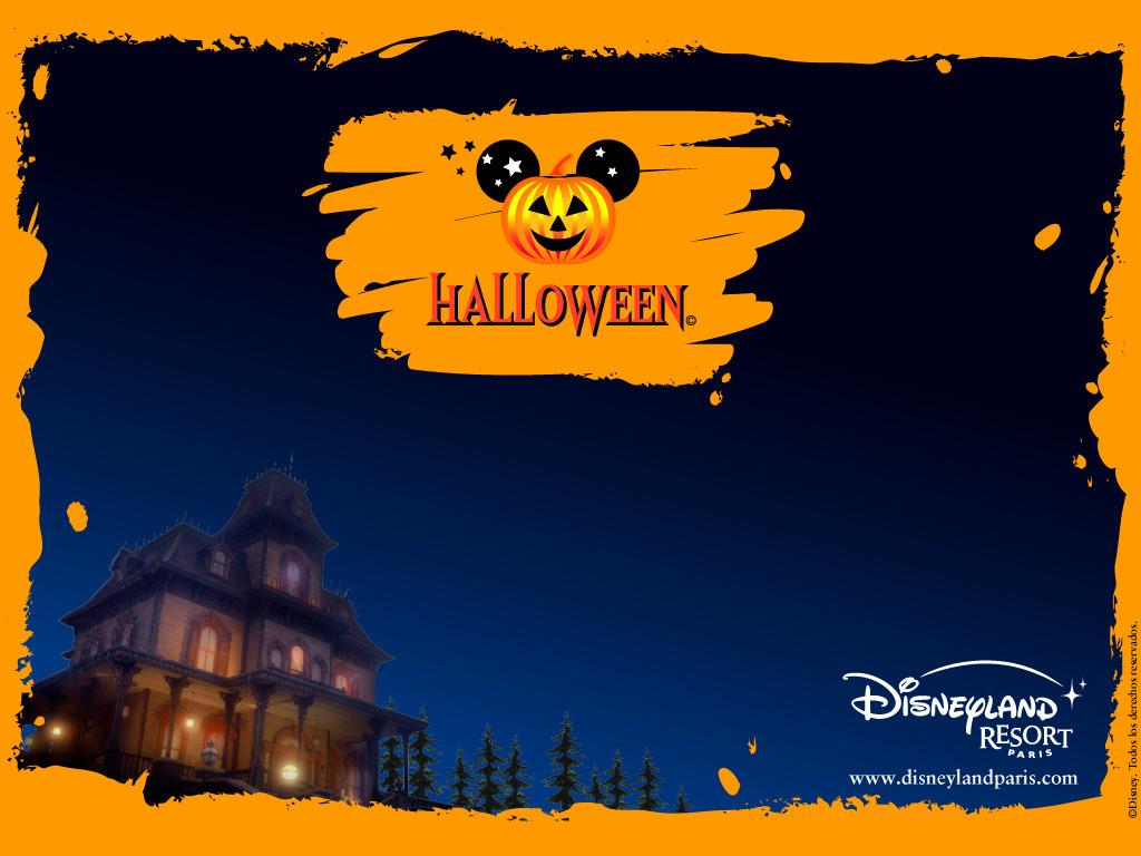 Cartoons Wallpaper: Disneyland - Halloween