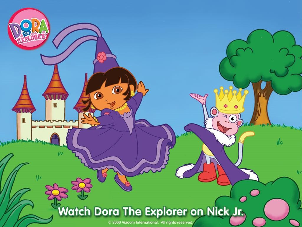 Cartoons Wallpaper: Dora the Explorer