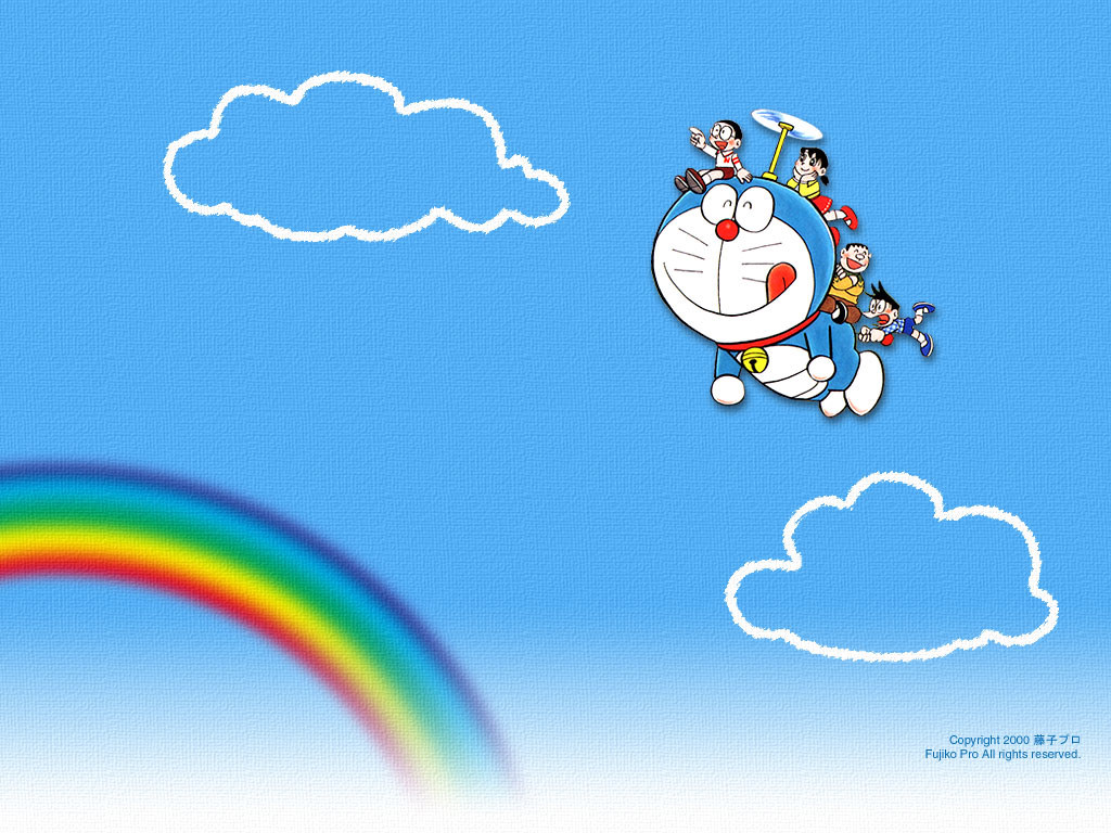 Cartoons Wallpaper: Doraemon