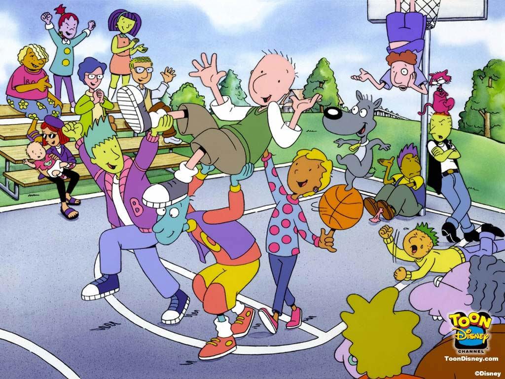 Cartoons Wallpaper: Doug