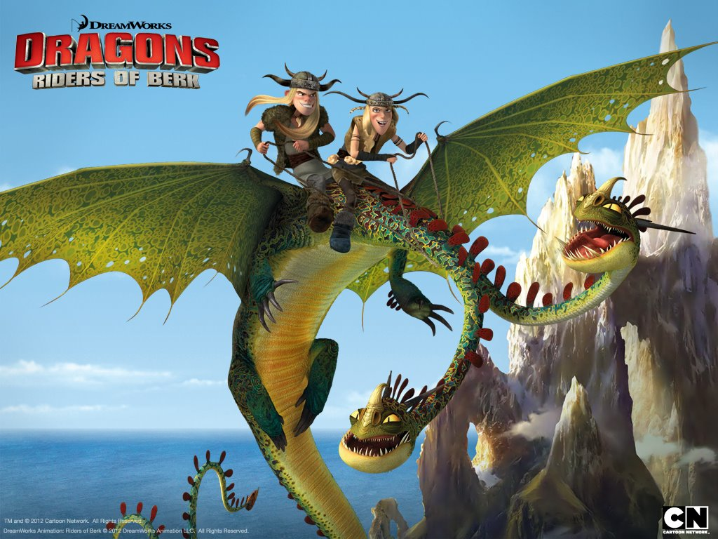 Cartoons Wallpaper: Dragons - Riders of Berk