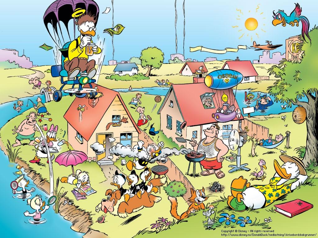 Cartoons Wallpaper: Duckburg