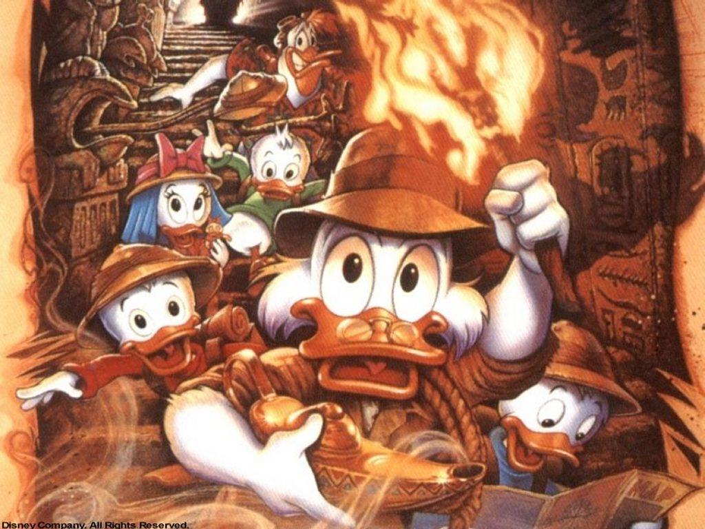 Cartoons Wallpaper: Ducktales - the Movie