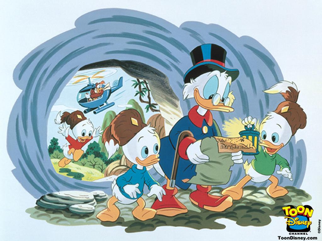 Cartoons Wallpaper: Ducktales