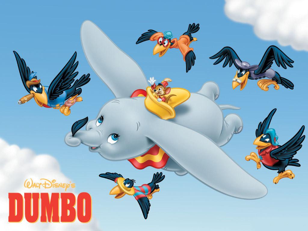 Cartoons Wallpaper: Dumbo