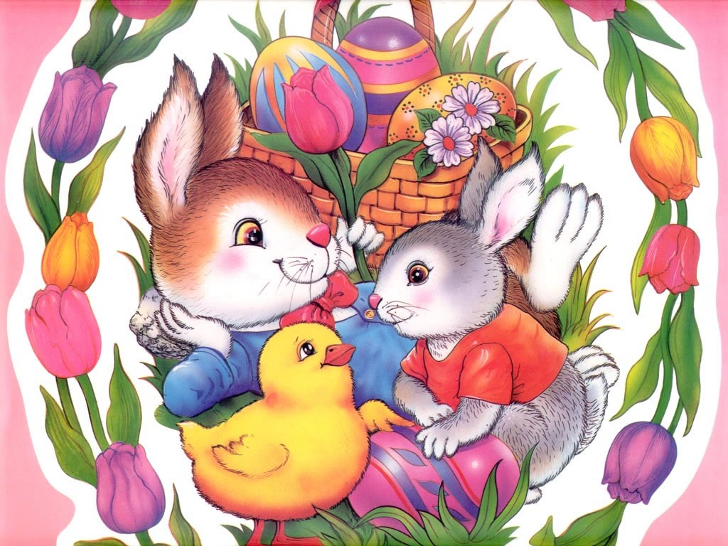 Cartoons Wallpaper: Easter