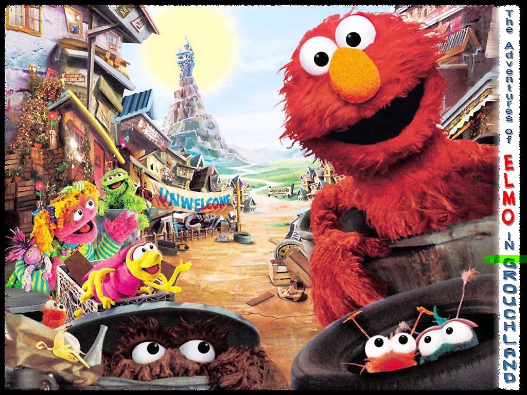 Cartoons Wallpaper: Elmo - Adventures in Grouchland