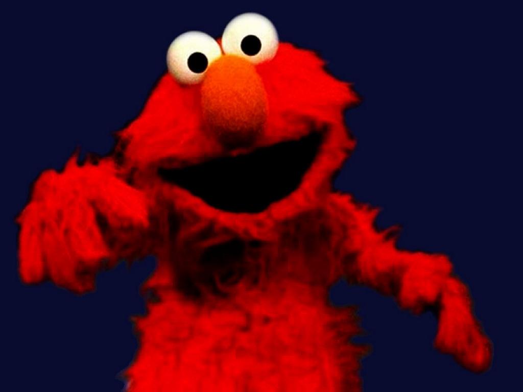 Cartoons Wallpaper: Elmo from Sesame Street