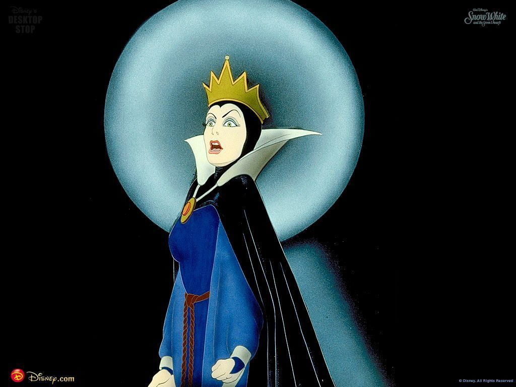 Cartoons Wallpaper: Evil Queen from Snow White and the Seven Dwarves