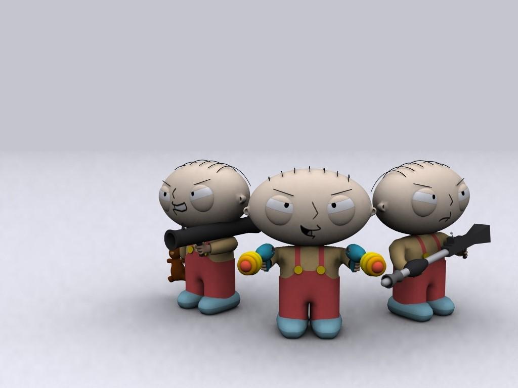 Cartoons Wallpaper: Family Guy - 3D Stewie