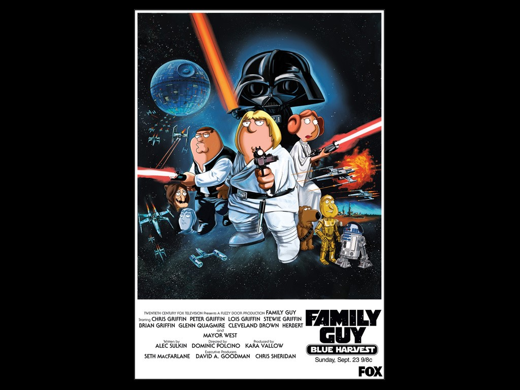 Cartoons Wallpaper: Family Guy - Blue Harvest