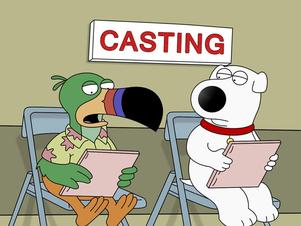 Cartoons Wallpaper: Family Guy - Brian and Tucan Sam