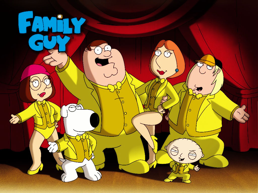 Cartoons Wallpaper: Family Guy