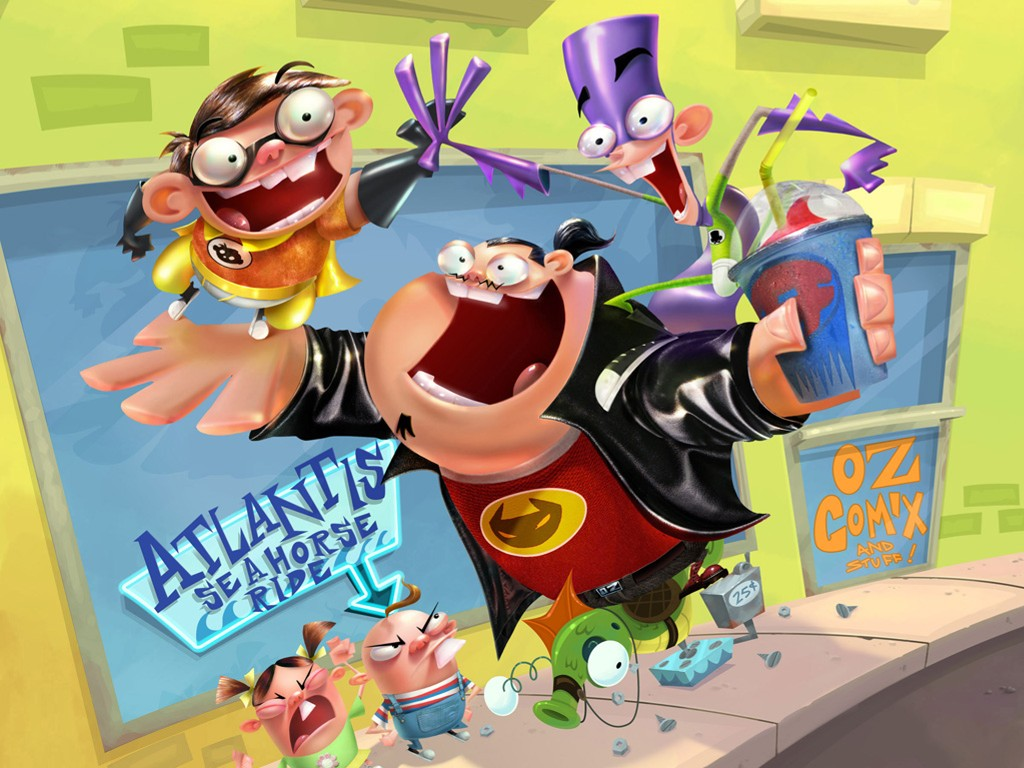 Cartoons Wallpaper: Fanboy and Chum Chum