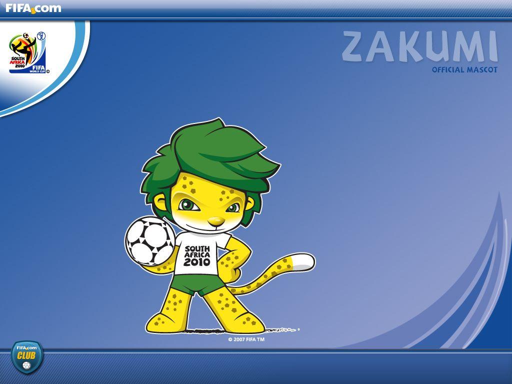 Cartoons Wallpaper: FIFA World Cup 2010 - Zakumi