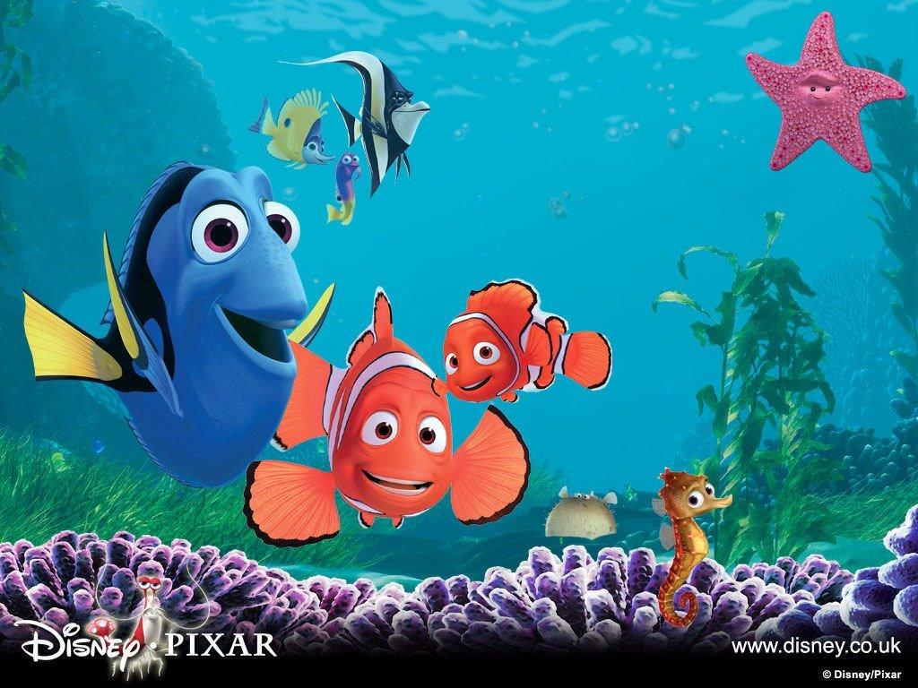 Cartoons Wallpaper: Finding Nemo