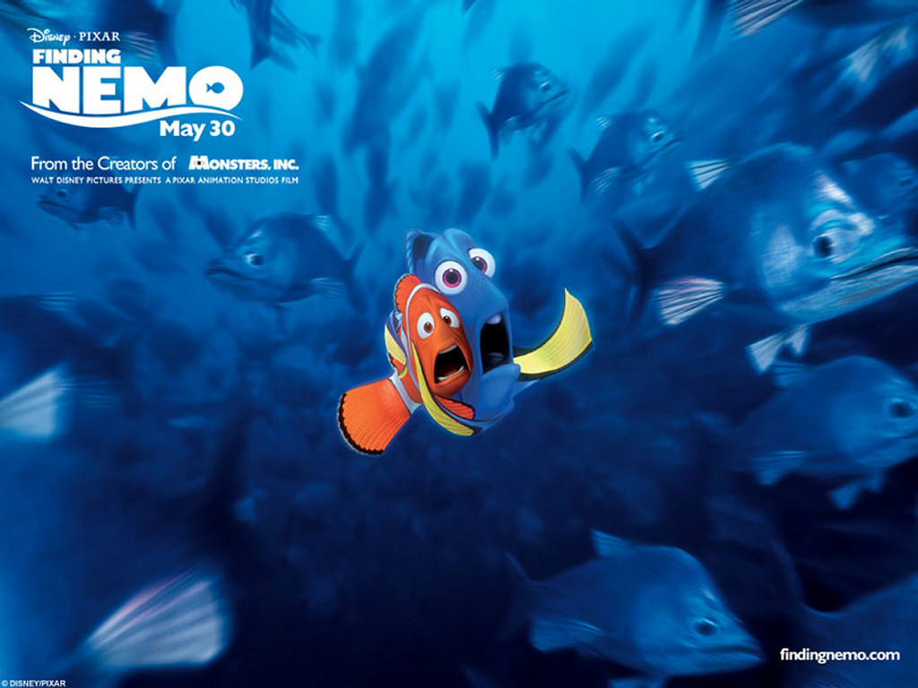 Cartoons Wallpaper: Finding Nemo