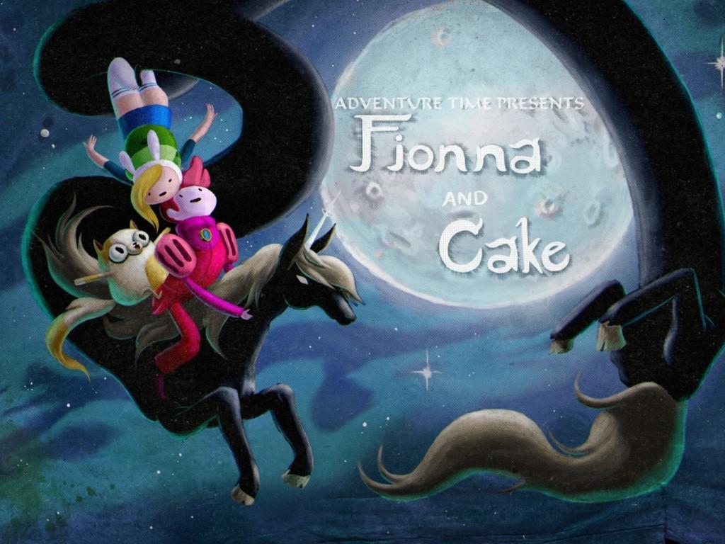 Cartoons Wallpaper: Adventure Time - Fionna and Cake