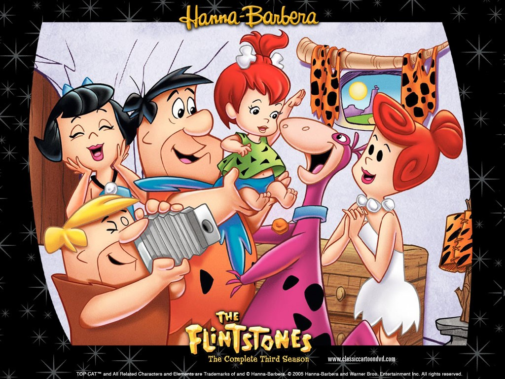 Cartoons Wallpaper: Flintstones - Third Season