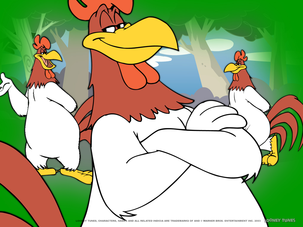 Cartoons Wallpaper: Foghorn Leghorn