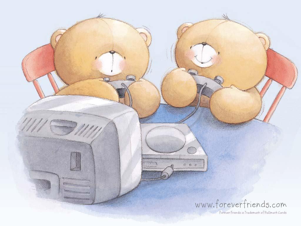 Cartoons Wallpaper: Forever Friends