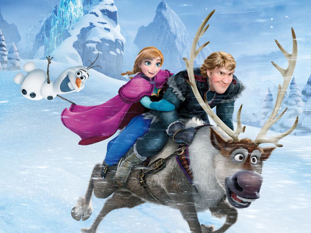 Papel de Parede Gratuito de Desenhos : Frozen