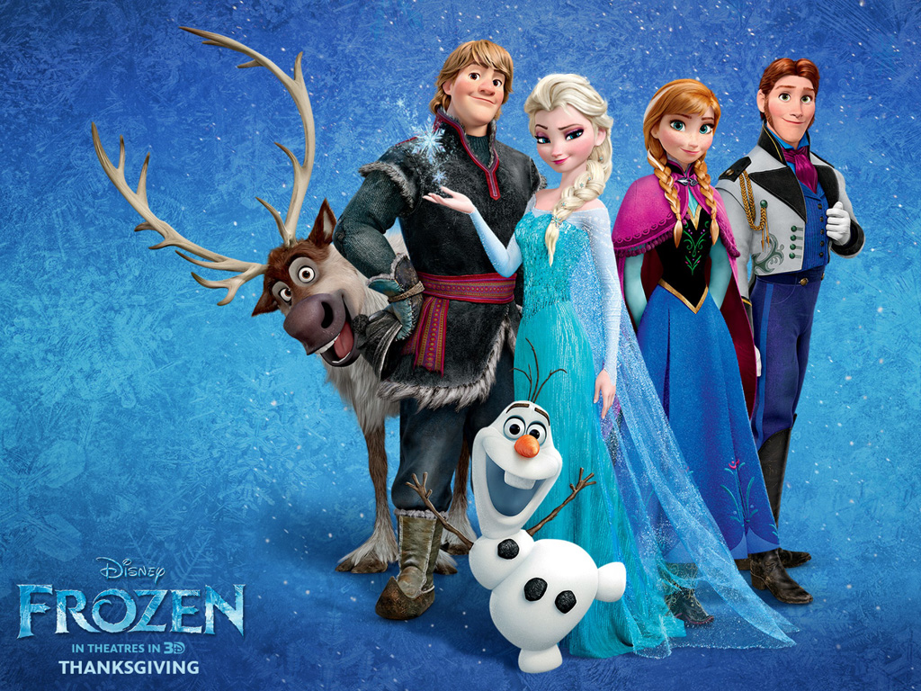 Cartoons Wallpaper: Frozen